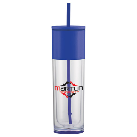 Ice Cool Tumbler 18oz, 1623-94, 1 Colour Imprint
