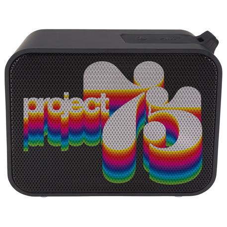 Block Outdoor Waterproof Bluetooth Speaker, 7198-38 - 1 Colour Imprint