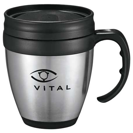 Java Desk Mug 14oz, 1620-90, 1 Colour Imprint