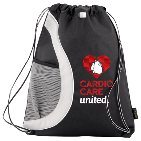 Arches Recycled PET Drawstring Sportspack, 3005-80, 1 Colour Imprint