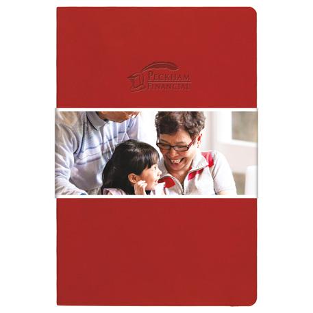 Pedova Soft Graphic Wrap Bound JournalBook, 2900-10-L, 1 Colour Imprint