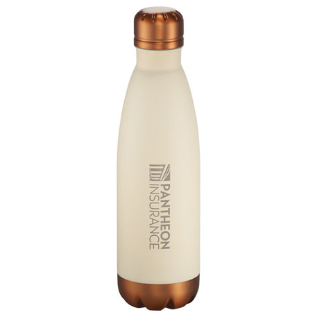 Cutter & Buck Bainbridge Copper Vac Bottle 17oz, 9870-11, Laser Engraved Imprint