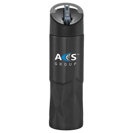 Geometric Stainless Bottle 30oz, 1625-18, 1 Colour Imprint