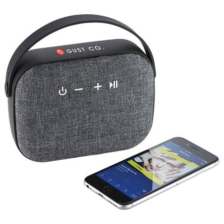 Woven Fabric Bluetooth Speaker, 7198-18 - 1 Colour Imprint