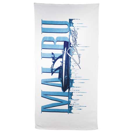 10lb./doz. Mid-Weight Beach Towel, 2090-07, 1 Colour Imprint