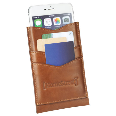 Alternative Leather Phone Case Wallet, 9004-07, Deboss Imprint