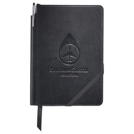 Cross(R) Medium Bound Notebook Gift Set, 2768-01, Deboss Imprint