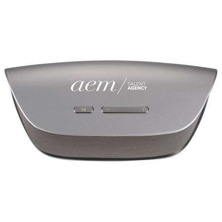 Mormont Metal Ten Watt Bluetooth Speaker, 7198-41 - Laser Engraved Imprint