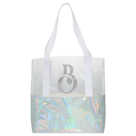 Holographic Boat Tote, 2190-11, Deboss Imprint