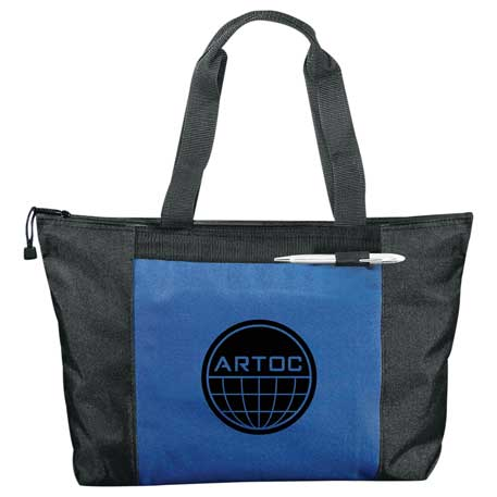 Excel Sport Zippered Meeting Tote, 8200-37 - 1 Colour Imprint
