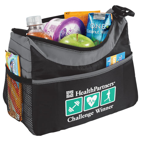 Stay Puff 6 Can Lunch Cooler, 2180-06, 1 Colour Imprint