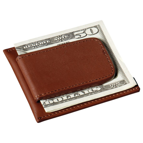 Cutter & Buck Money Clip Card Case, 9800-78 - 1 Colour Imprint
