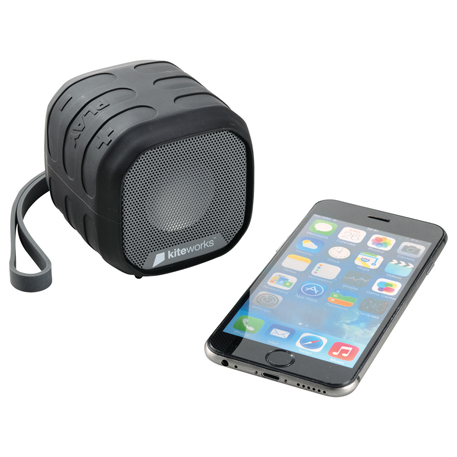 High Sierra Grizzly Outdoor NFC Bluetooth Speaker, 8052-18 - 1 Colour Imprint