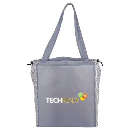 TRENZ Large Cinch Tote, 2150-71 - 1 Colour Imprint