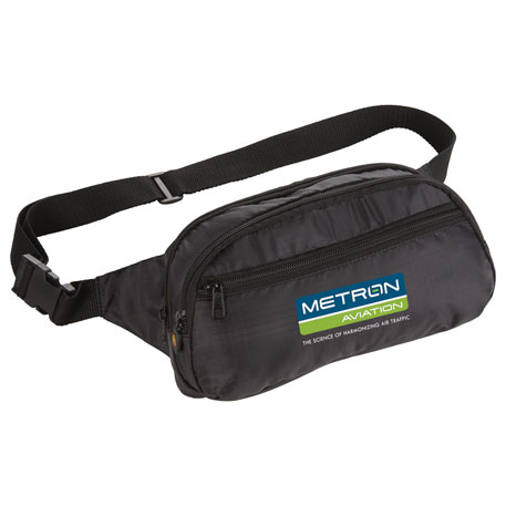 BRIGHTtravels RFID Waist Pack, 7007-27 - 1 Colour Imprint