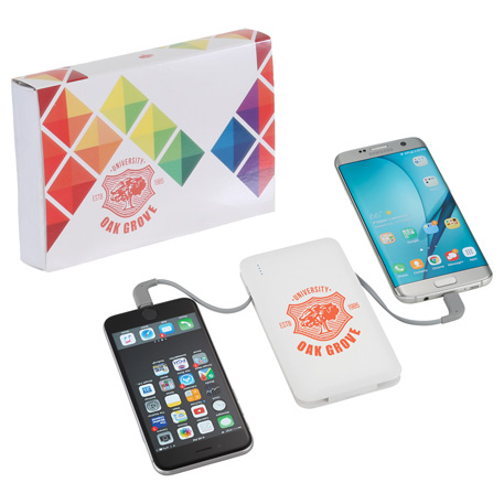 Spectro Power Bank with Full Color Wrap, 7121-80, 1 Colour Imprint