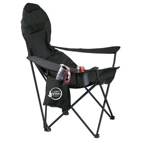 Deluxe Folding Lounge Chair, 1070-55 - 1 Colour Imprint