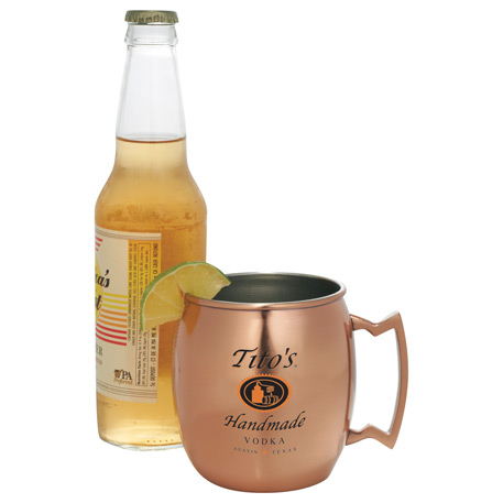 Moscow Mule Mug 16oz, 1624-53, 1 Colour Imprint