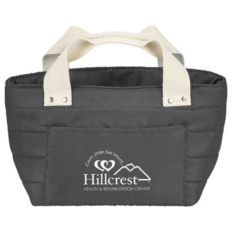 Quilted Lunch Cooler, 4200-14 - 1 Colour Imprint