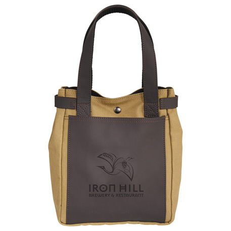 Bullware Wine/Growler Tote, 1033-50 - Debossed Imprint