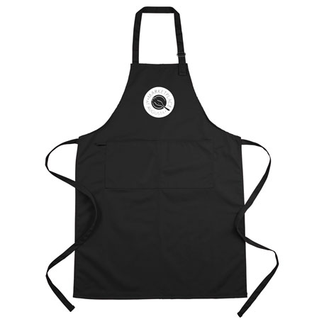 Adjustable Full Length Apron with Pockets, 1401-11, 1 Colour Imprint