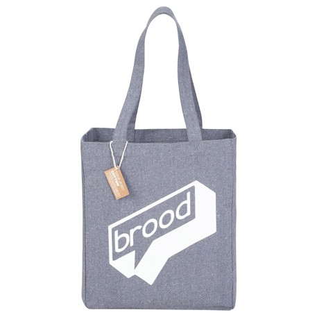 Recycled Cotton Grocery Tote, 7901-07-L, 1 Colour Imprint