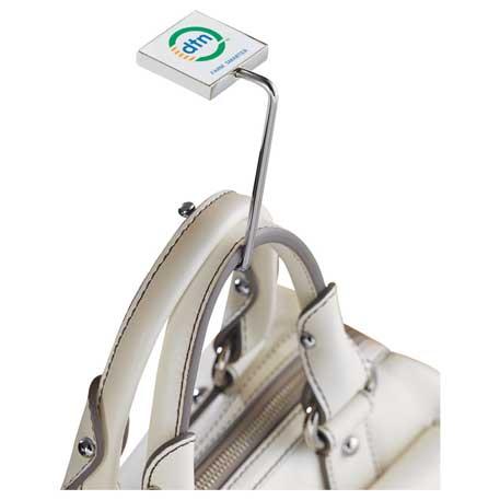 Foldable Metal Bag Hook, 1070-25 - Epoxy Dome - Full Colour