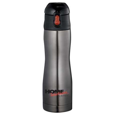 Zippo Stainless Vacuum Bottle 17oz, 7550-55 - 1 Colour Imprint