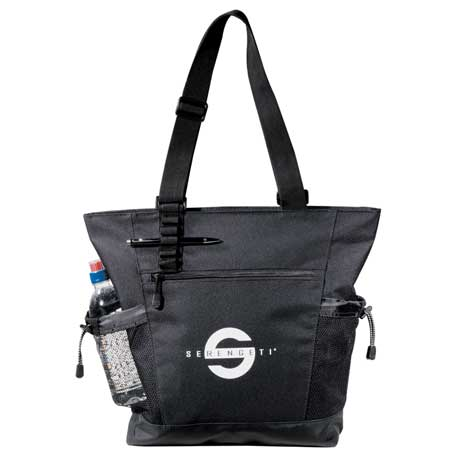 Urban Passage Zippered Travel Business Tote, 8400-30 - 1 Colour Imprint