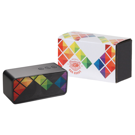 Stark Bluetooth Speaker with Full Color Wrap, 7198-84, 1 Colour Imprint