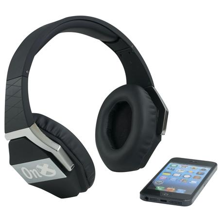 ifidelity Optimus Bluetooth headphones, 7199-43 - Laser Engraved Imprint