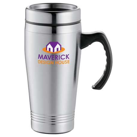 Everest Travel Mug 16oz, 1622-12, 1 Colour Imprint