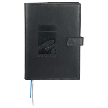 Uptown Refillable Leather JournalBook, 2700-96 - Debossed Imprint
