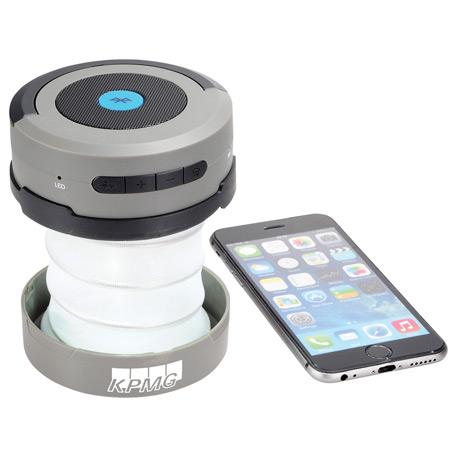Bluetooth Speaker Accordion Lantern Flashlight, 1226-16, 1 Colour Imprint