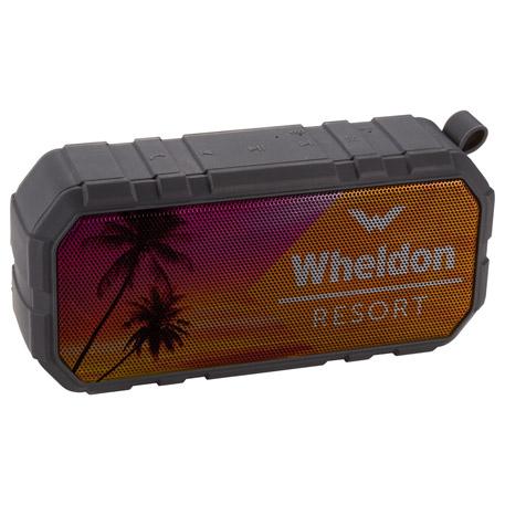 Brick Outdoor Waterproof Bluetooth Speaker, 7198-26 - 1 Colour Imprint