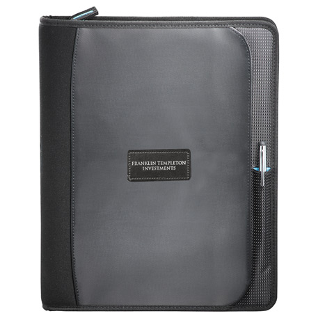 Zoom(R) 2-in-1 Tech Sleeve Zip Padfolio, 7003-52, Deboss Imprint