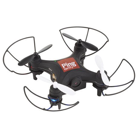 Remote Control Mini Drone with Camera, 7140-91 - 1 Colour Imprint