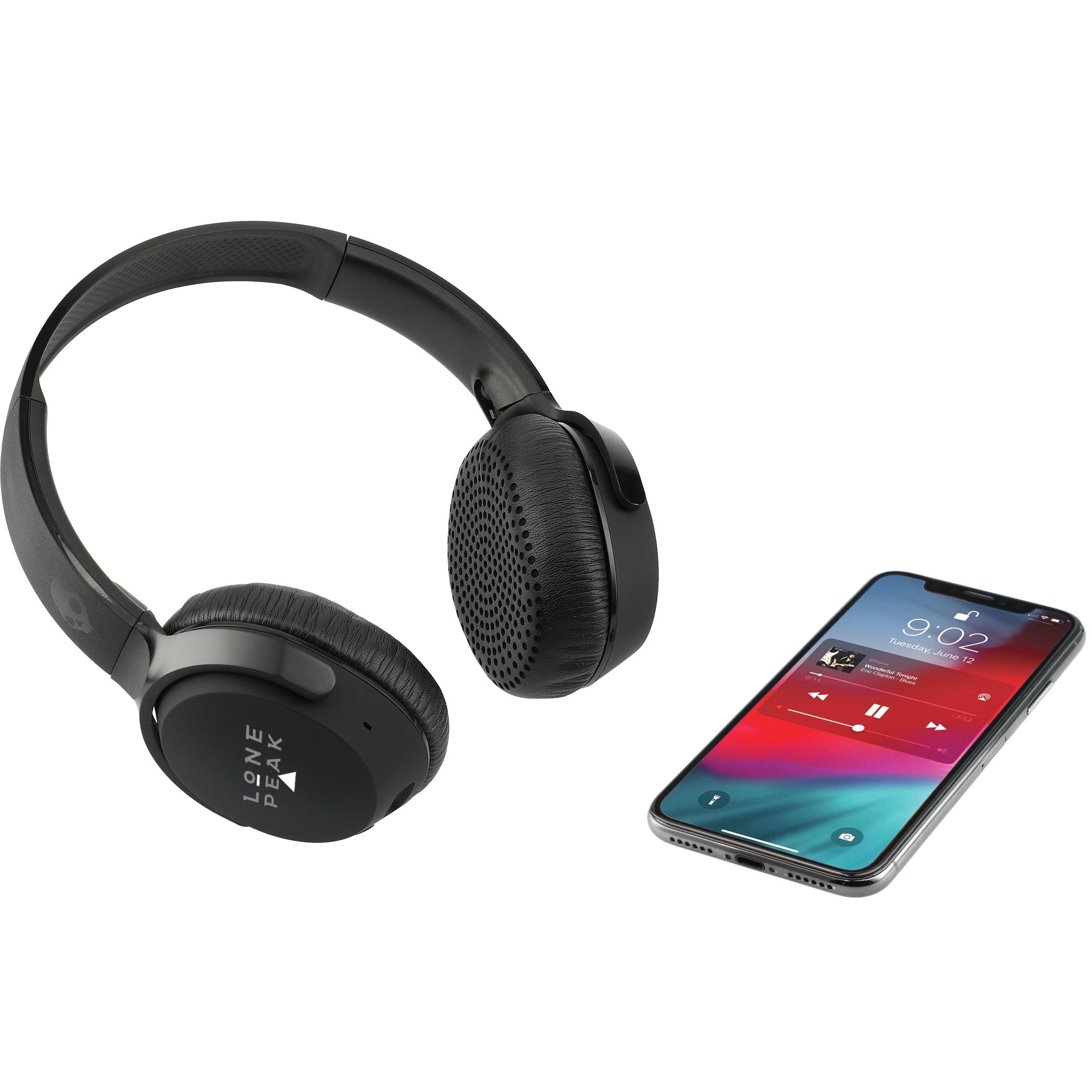 Skullcandy Riff Bluetooth Headphones, 7196-07-L, 1 Colour Imprint