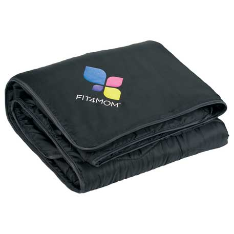 Ultra-Light Quilted Blanket, 1080-32 - 1 Colour Imprint