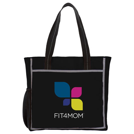Reflective Frame Tote, 6760-04, 1 Colour Imprint
