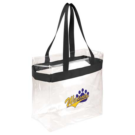 Game Day Clear Stadium Tote, 2301-36, 1 Colour Imprint