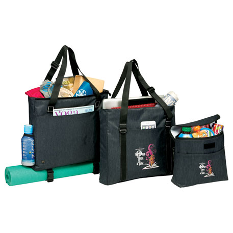 3-in-1 Work-Gym-Lunch Tote, 3006-46, 1 Colour Imprint