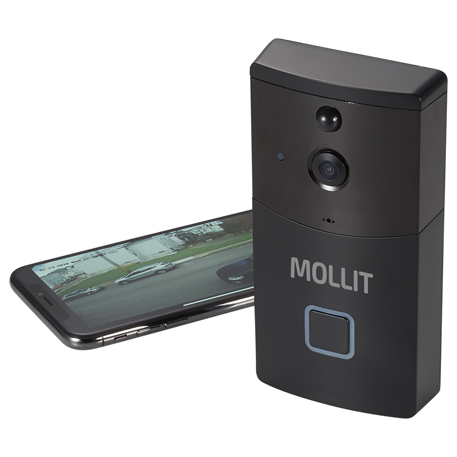 Smart Wifi Video Doorbell, 7141-48, 1 Colour Imprint