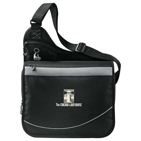 Incline Urban Messenger Bag, 4525-05, 1 Colour Imprint