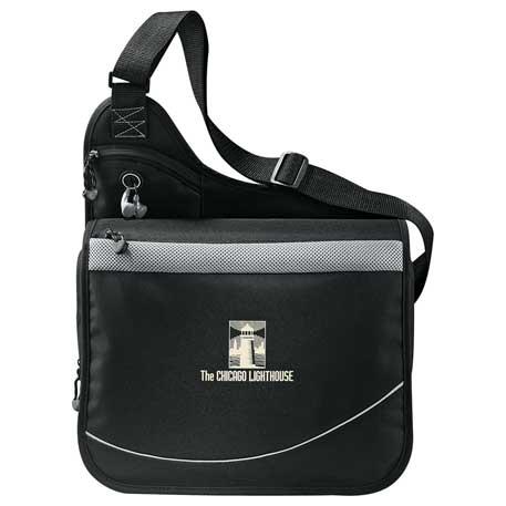 Incline Urban Messenger Bag, 4525-05, 1 Colour Imprint