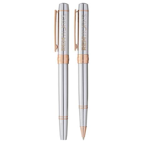 Cutter & Buck Beacon Pen Set, 1066-36 - 1 Colour Imprint