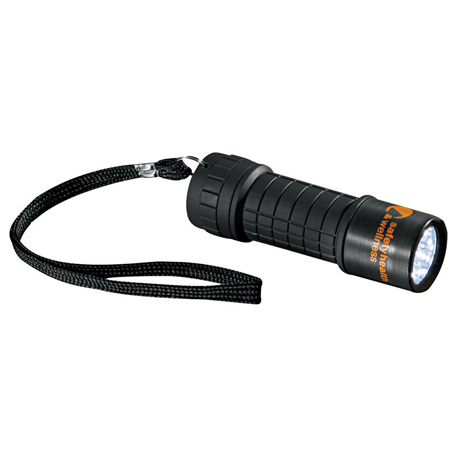 Built2Work 9 LED Flashlight - K35, 1225-55 - 1 Colour Imprint