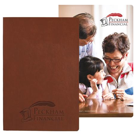 Pedova Soft Graphic Page- Deboss Plus JournalBook, 2900-14 - Debossed Imprint
