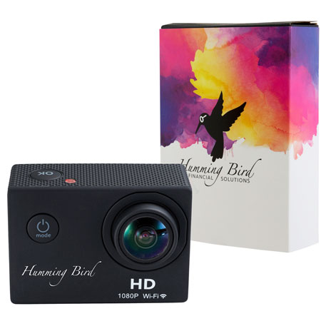 HD Action Camera with Full Color Wrap, 7141-92, 1 Colour Imprint