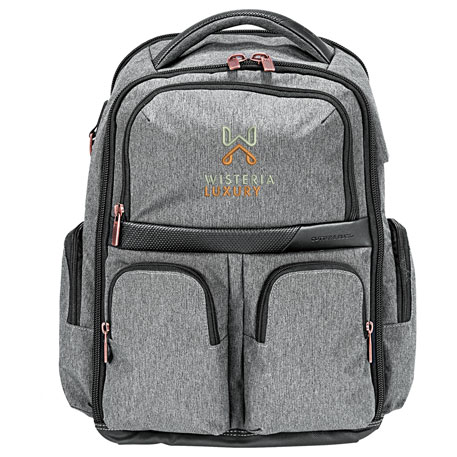 Cutter & Buck Executive Backpack, 9870-57, Embroidered Logo